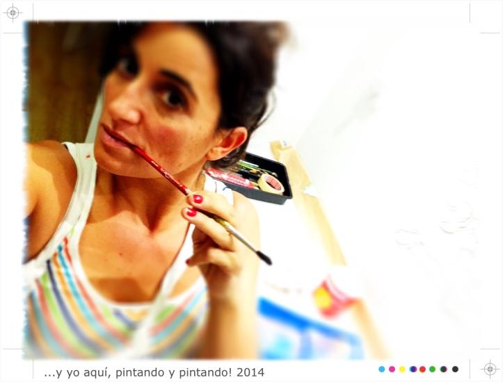 Begoña Pérez-Herrera Moreno, bgophycolorincolorado, ilustradora, pintura mural, Galicia, Vigo