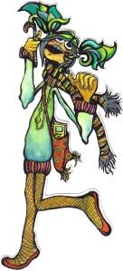 ilustración bgoph, tinta poquita de atar