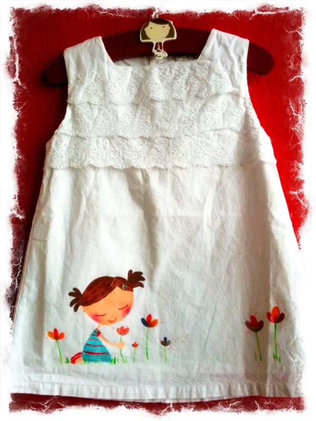 Otro pasito adelante...ahora vamos a ilustrar algún lindo vestido,porque también lo merecen y lo sabrán lucir...!