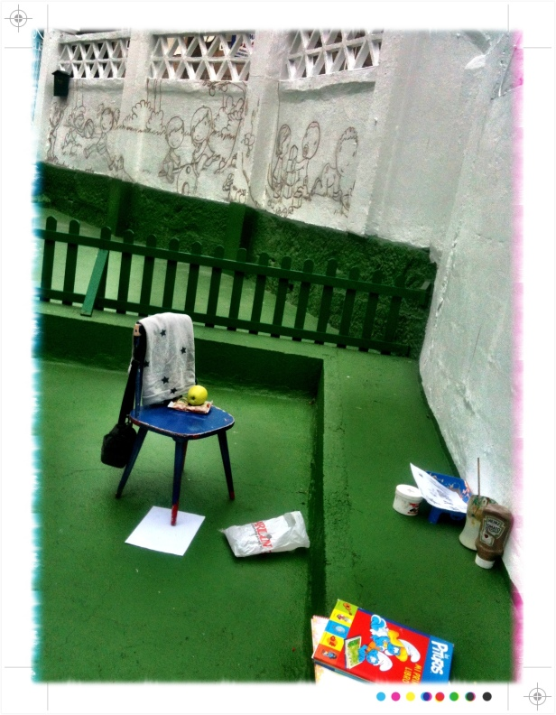 pintura Mural Escuela infantil, bgophycolorincolorado