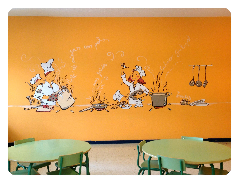 Vilalaura bgoph y colorincolorado for Papel mural para comedor